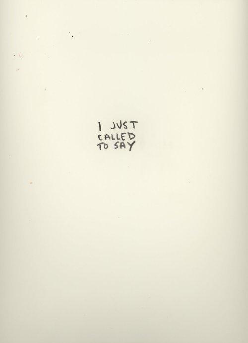 I love you, Happy.