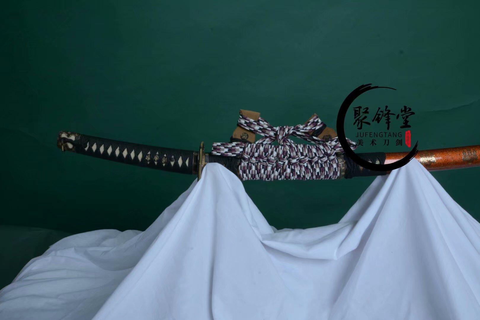 童子切安鋼3.2版本 - 聚鋒堂美術刀劍-名刀復刻,日本武士刀,太刀,唐刀,漢劍,雁翎刀,龍泉刀劍