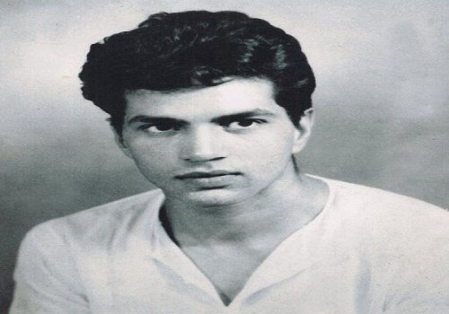 Dharmendra in young age