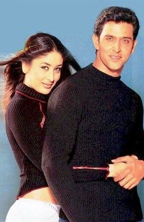 Hrithik Roshan with Kareena Kapoor