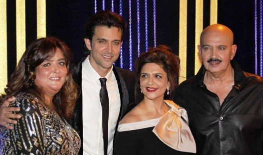Hrithik Roshan with his sister Sunaina Roshan