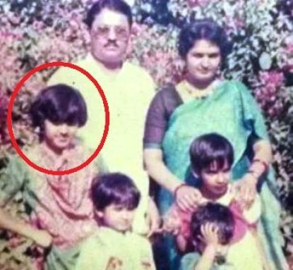 Justice Mohan's childhood film with family