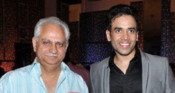 Tusshar Kapoor with his uncle