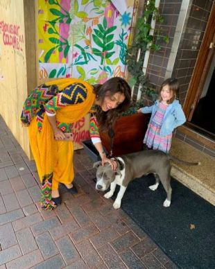 Aarti Chabria loves dogs