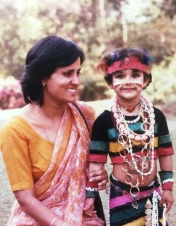 Angira Dhar's Childhood Picture