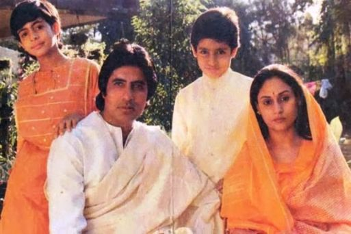 Old Picture of Jaya and Family