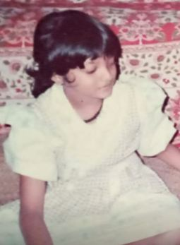 Soorya Menon's childhood picture