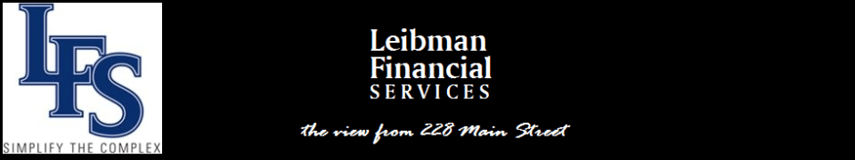 Leibman Financial Services: the view from 228 Main St