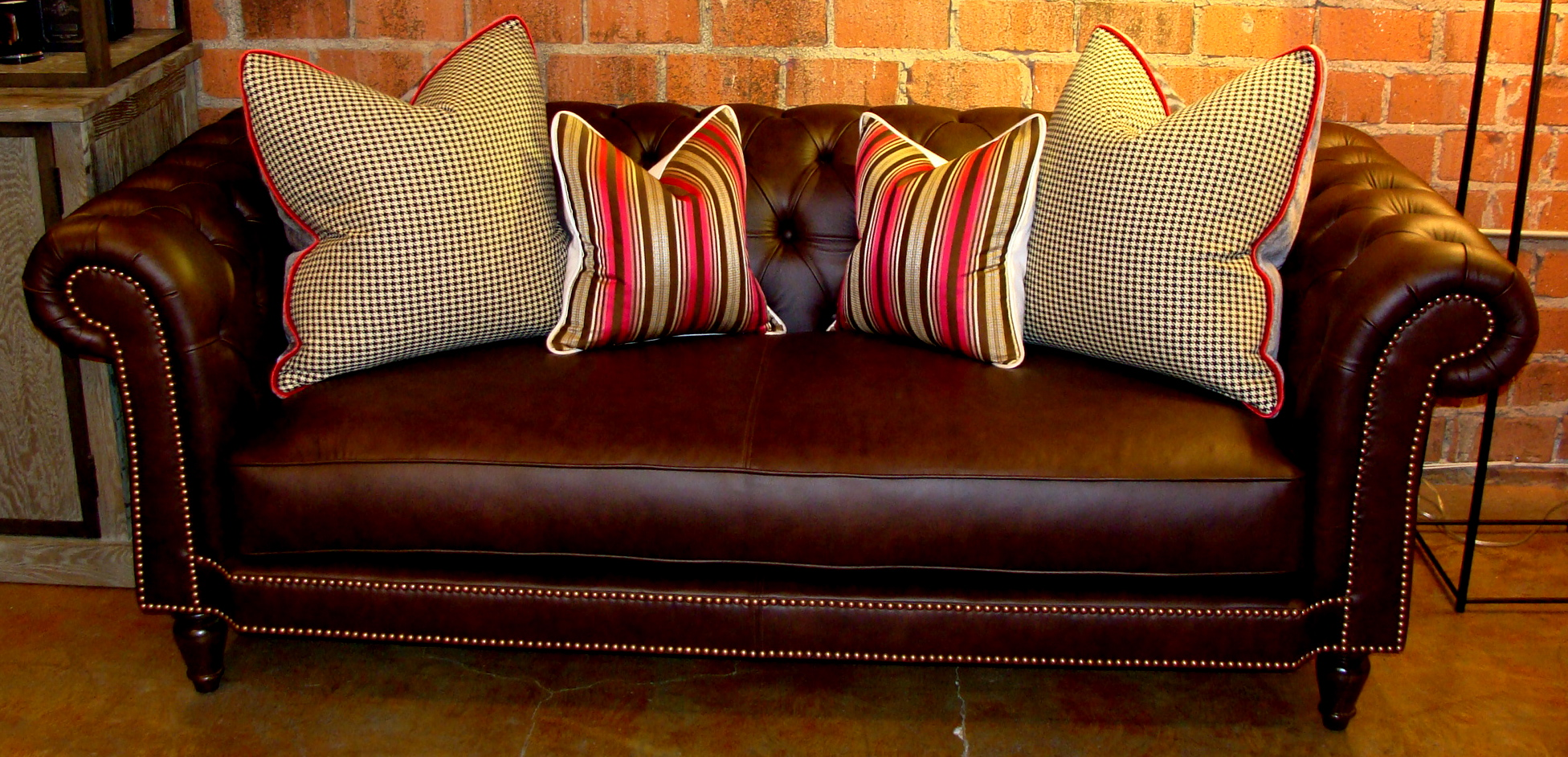 brown chesterfield sofa pottery barn leather 22 bond st daily blog