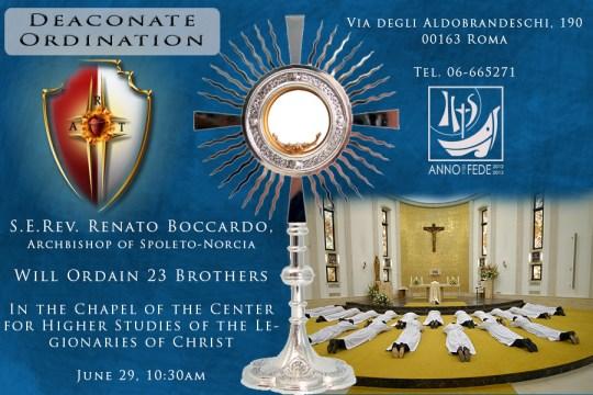 Deaconate Ordination June 29th, 2013