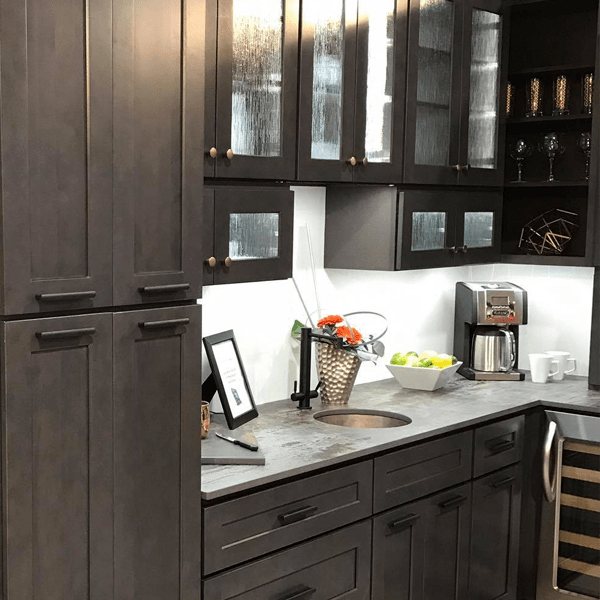 Did you know Quality Stone also sells Gray Cabinets