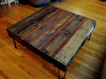 Reclaimed Pallet And Piano Coffee Table 22nd Design