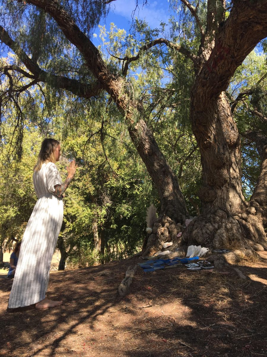 "May 12th ""Honoring Gaia"" Earth Magic Crystal Grid at Ernest Debs Park"