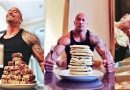"""Dwayne """"The Rock"""" Johnson Eating 