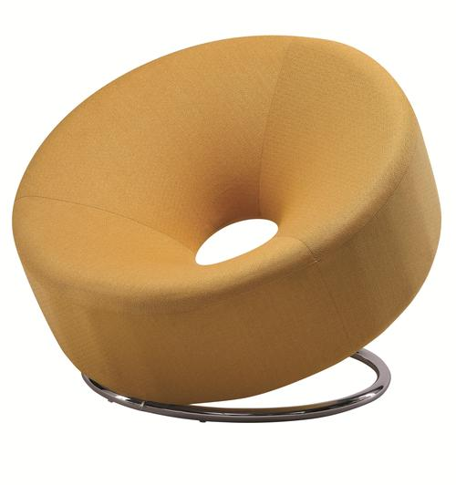 Coaster Accent Seating Donut Shaped Accent Chair