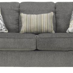 Average Weight Of A Large Sofa Michigan Snuggle Next Signature Design By Ashley Makonnen Charcoal Queen