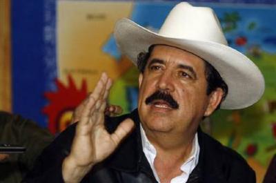 Honduras' ousted President Manuel Zelaya (REUTERS/Oswaldo Rivas)
