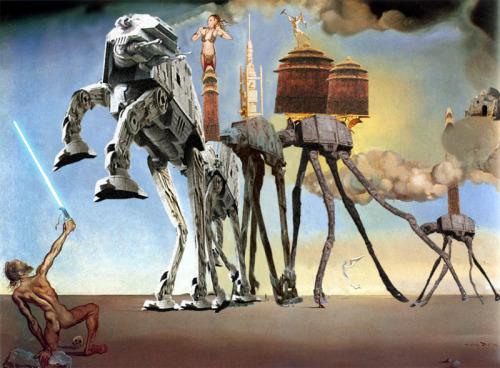Dali vs George Lucas (ou la Tentation du Saint Jedi)