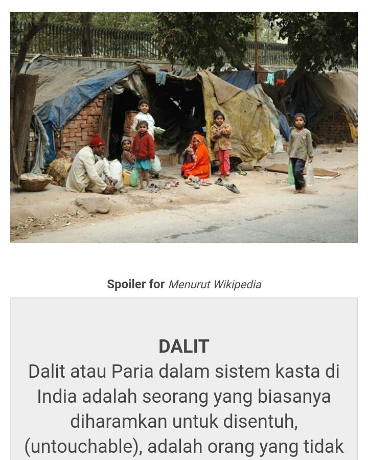 Sistem Kasta Di India : sistem, kasta, india, Dalit.