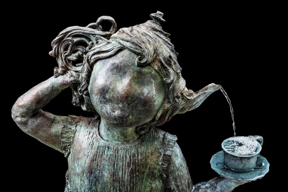 Skulptur af Maria Rubinke