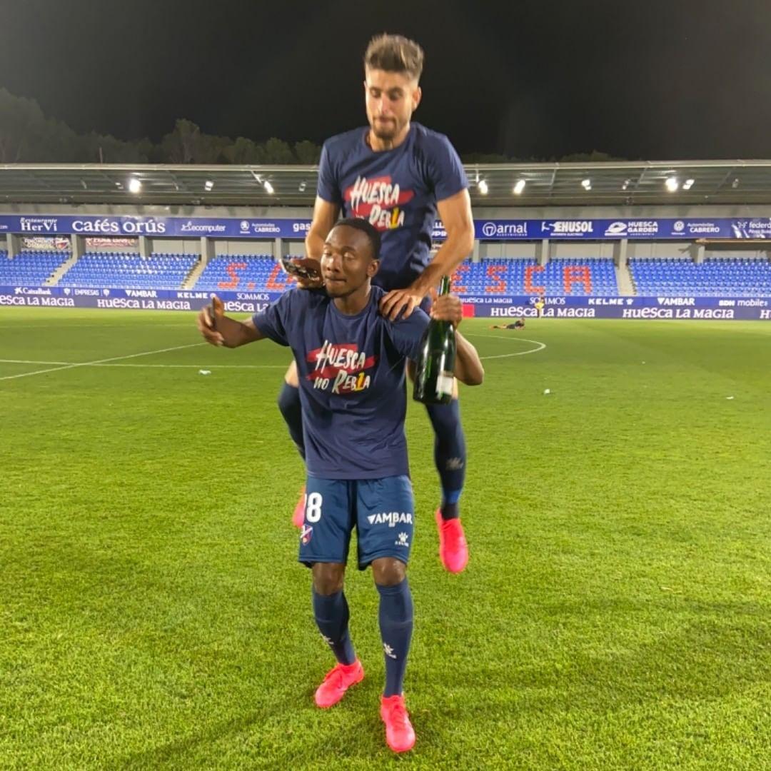 Kelechi Nwakali S Huesca Gain Promotion To La Liga