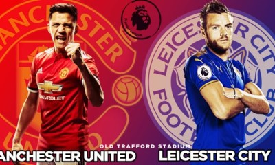 man united vs leceister city