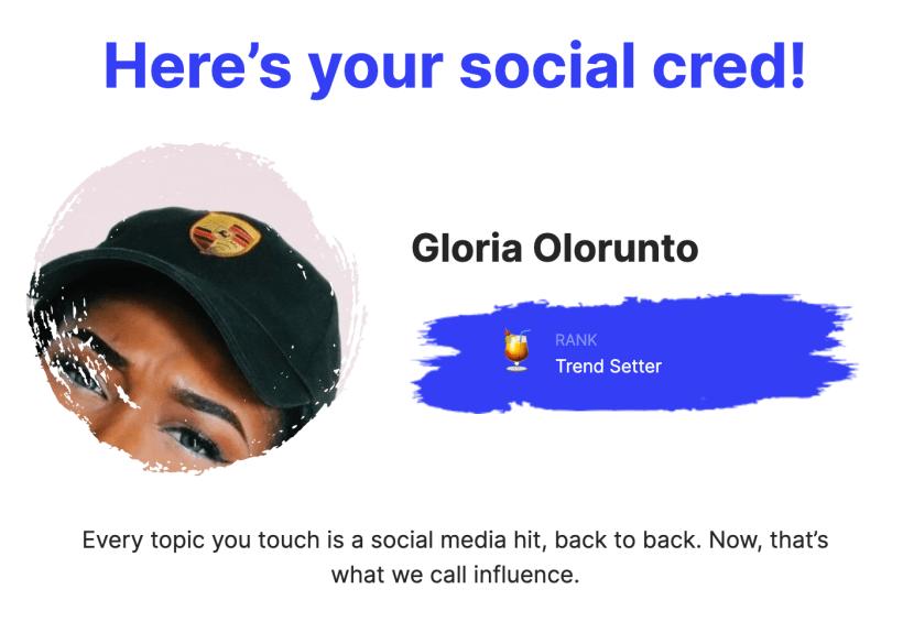 Maraji, Gloria Oloruntobi
