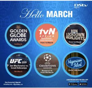 DSTV March