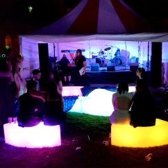 Ex Hire Chair Covers For Sale Outdoor Portable Chairs Led Curved Bench Across The Uk | Premier Events