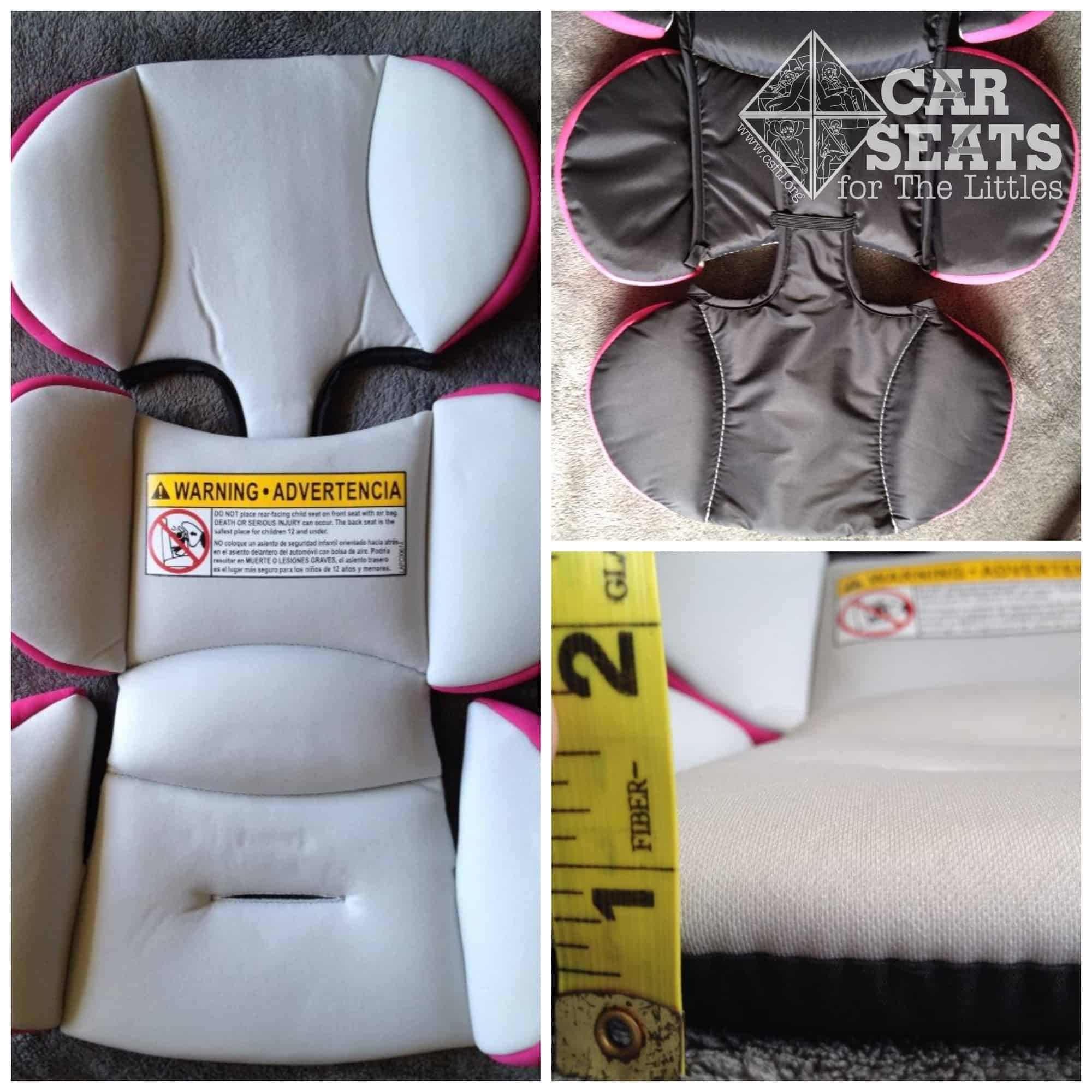 high chair pad graco diy hanging stand plans 4ever review car seats for the littles infant insert