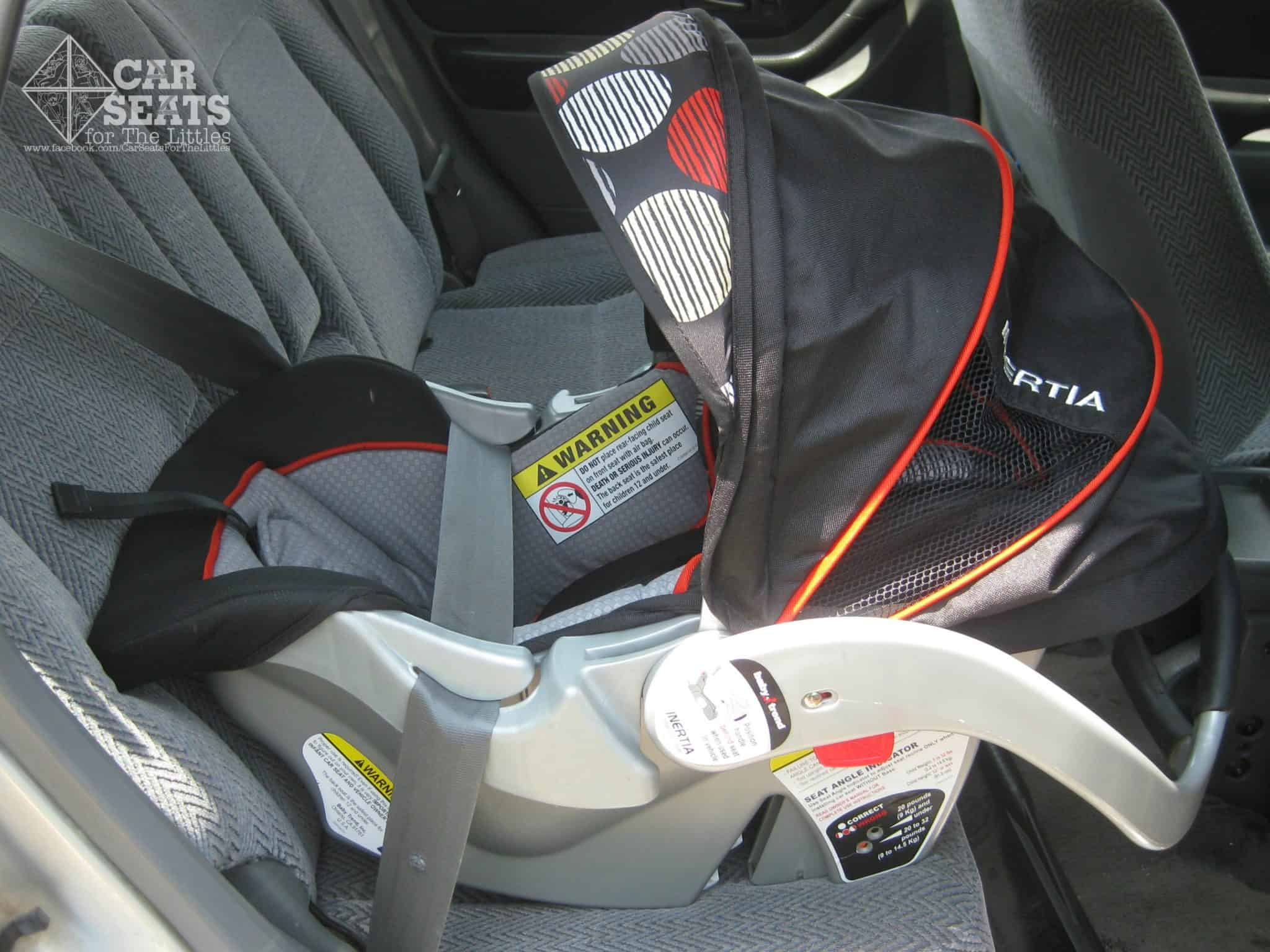 Car Seats For The Littles  Baby Trend Inertia Reviewbaby