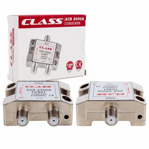 Class ACR-2500A 5-2500MHZ Tv-Sat Combiner