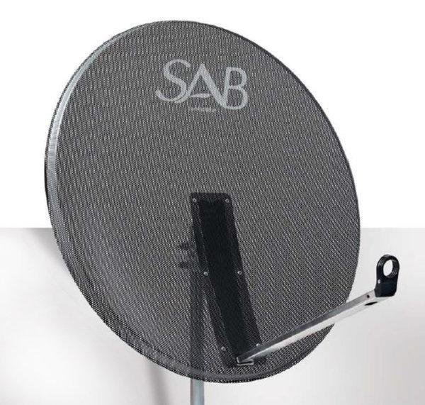 SAB 65 cm Çanak Anten Delikli Offset M65A