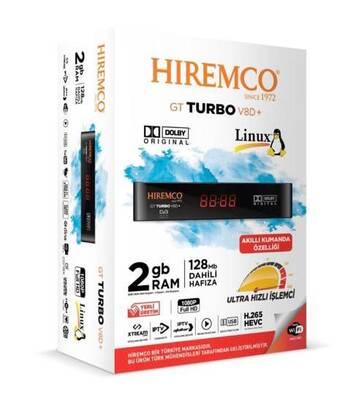 Hiremco GT Turbo V8D+ Uydu Alıcısı Yeni Model