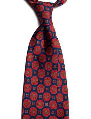 cravata matase vintage medallion c498 10164 4