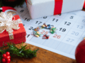 holiday plan calendar for editorial and social media content