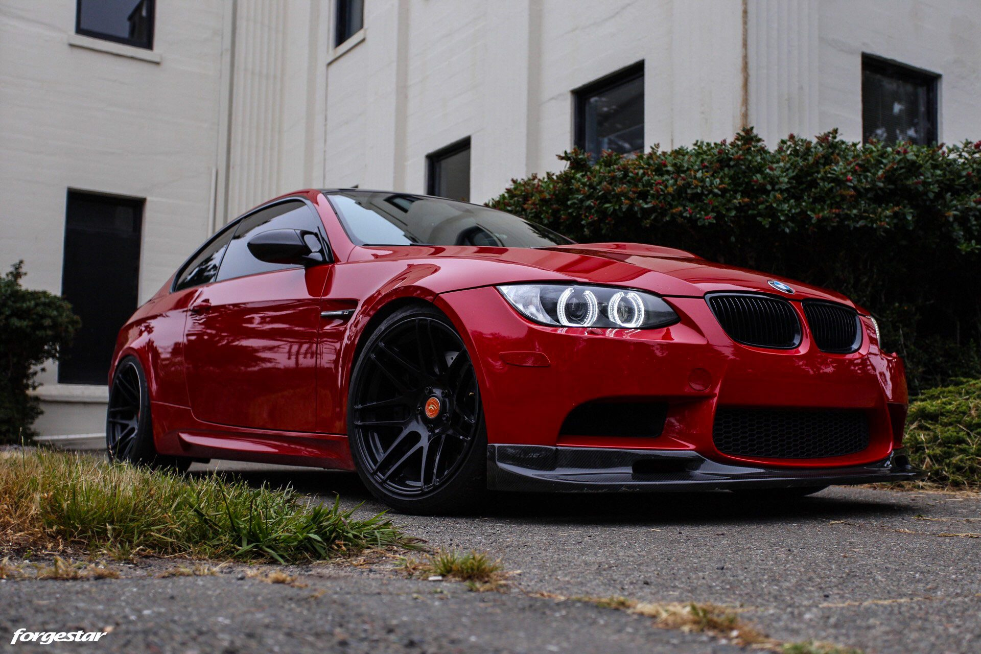 hight resolution of e92 m3 red