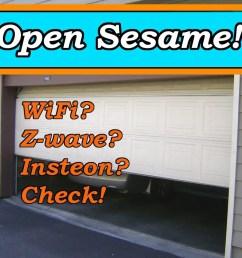smart garage door opener feature [ 1000 x 966 Pixel ]