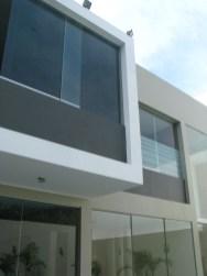 Detalle fachada posterior