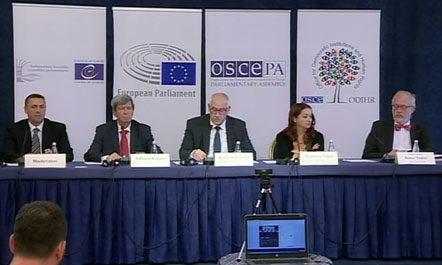 OSBE ODIHR  raport për zgjedhjet  Ndërhyrje nga aktivistë partiakë të autorizuar