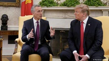 Trump takon Stoltenberg  Në fokus  shpenzimet ushtarake të NATO s