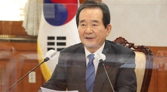 رئيس الوزراء الكوري الجنوبي تشونغ سي-كيون (أرشيف)