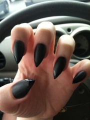 nails matte fake claws talons