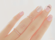 love pretty cute ring edit nails