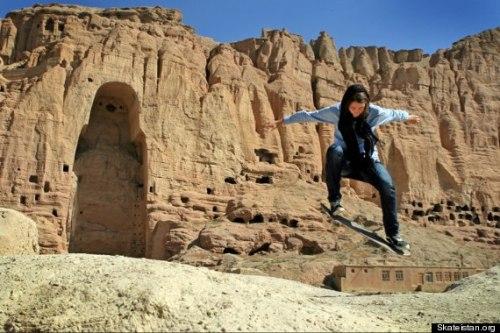 Skating in Afghanistan