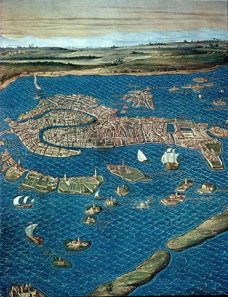 Vecie Lagoon by Ignazio Danti