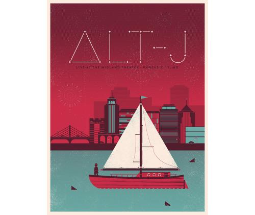 Alt-J Poster by DangerDom
