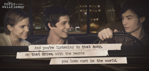 What's your driving song? The Perks Of Being A Wallflower is now available on iTunes!http://bit.ly/PerksMovie_iTunes