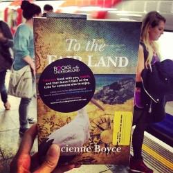 Lucienne Boyce's historival novel To The Fair Land on the Underground
