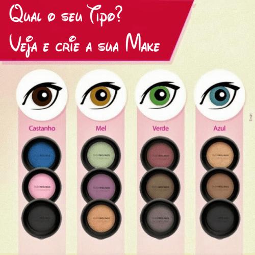 Make Up: Qual seu Tipo?Oi, Meninas!! O post de make não será um tutorial essa semana, será um guia para você fazer a sua…View Post